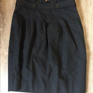 Black, BCBGMaxazria, size 6, high waisted skirt